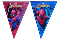 Spider Man Flag Banner Bunting Children's Birthday Party Decoration Boys Girls