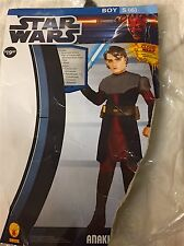STAR WARS BOYS ANAKIN SKYWALKER  COSTUME  SIZE ( S-6 ) WORN ONCE PERFECT