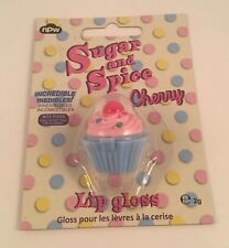 SUGAR AND SPICE Cherry Cupcake Lip Gloss 2 gm Cherry Flavored Lip Balm