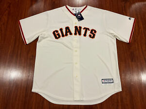 Majestic Cool Base Men's San Francisco Giants Home Jersey Extra Large XL MLB