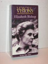 Elizabeth Bishop Voices & Visions VHS NEW STILL SEALED RARE MYSTIC FIRE VIDEO