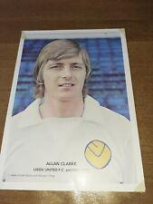 Leeds United Alan Clarke Souvenir shop Photo 1970s