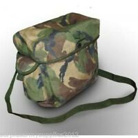BRITISH ARMY DPM RESPIRATOR BAG POUCH CBRN NBC S10 SURPLUS FISHING HAVERSACK