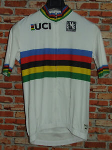 Camiseta Bici Ciclismo Shirt Maillot Ciclismo Sport Maillot Uci SANTINI T. 3XL