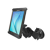 RAM Dual Suction Car Windscreen Glass Mount Holder iPad Mini 4 w/ Lifeproof case