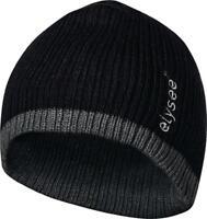 Strickmütze Ole universal schwarz/grau