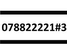 07882222173 THREE SIM CARD GOLD EASY PLATINUM VIP MOBILE PHONE NUMBER