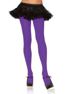 Leg Avenue Tights Assorted Solid Color Ladies Costume Accessory Regular & Plus
