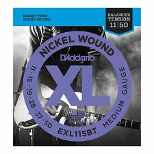 D'Addario EXL115BT XL Balanced Tension Electric Guitar Strings Medium - 11-50