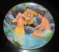 """Knowles 1987 South Pacific, """"Happy Talk"""" #4043D Collector Plate"""