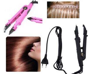 Clamp Heating Extension Hairstyle Addition Hair Keratin Delivery 24-72H