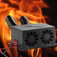 600W 12Volt Car Truck Fan Heater Rapid Heating Warmer Windscreen Defroster Hot