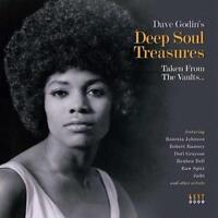 DAVE GODIN'S DEEP SOUL TREASURES NEW & SEALED LP VINYL KENT NORTHERN SOUL