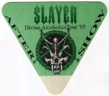SLAYER 1995 Divine Intervention Tour Backstage Pass!!! concert stage #1