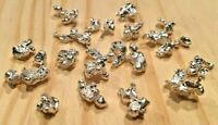 50 GRAMS OF .999 FINE SILVER NUGGETS! LOW PRICE! PURITY GUARANTEED! BULLION SHOT