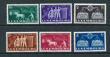LUXEMBOURG 1951 EUROPE MNH Set 6 Stamps High cat