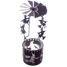 Halloween Spiders Web Witches Tea Light Candle Spinner