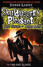 NEW  SKULDUGGERY PLEASANT FIRST EDITION HARDBACK DYING LAST STAND of DEAD MEN