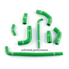 For Kawasaki Ninja 250R EX250F Green Radiator Heater Silicone Coolant Hose Pipe