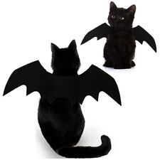 Halloween Kitten & Puppy Bat Custome Clothes Pet Dog Cat Cute Party T-shirt Gift