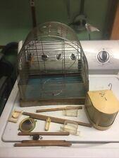 "Vintage Reliance Bird Cage 14�tall x 12"" wide x 8"" deep"