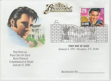 ELVIS PRESLEY GRACELAND FIRST DAY COVER WITH STAMP 1993 JAN MEMPHIS NEW ORIGINAL