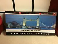 Tower Bridge London Panoramic Jigsaw 750 pieces BV LEISURE NEW Over 3 Feet Wide