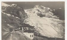 Switzerland, Jungfraubahn Station Eigergletscher und Monch RP Postcard, B263