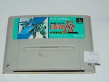 Super Famicom: Gundam F91 (cartucho/cartridge)