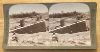 Mightiest Building Stone, Ruins of Baalbek, Syria – Stereoview Slide – 1900