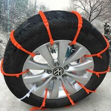 Universal Anti-skid Tire Snow Mud Chains for Car SUV Traction Emergency Driving