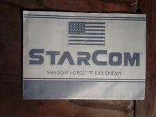1986 Coleco Spielzeug STARCOM Instruction Guide Shadow Force Shadowbat