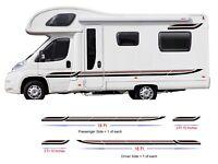 44ft Graphics Decals For Motorhome Caravan Campervan T4 T5 Transit Lots Colors
