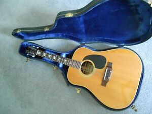 Beautiful Suzuki 12 string acoustic guitar with hard case