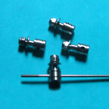4x 2mm Linkage stopper Rudder Servo Push Rod Dog Tie Rod End fr RC Boat Airplane