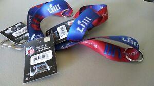 New England Patriots/Rams Superbowl Liii 53 NFL Bottle Opener/Keystrap Chain NWT