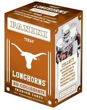 2015 Panini Univ of Texas Longhorns Multi Sport Retail Blaster Box Trading Cards