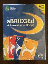 aBRIDGEd: A Revolution In Bridge by Out Of The Box - Family Card Game 2006 NEW!