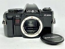 Reflex Argentique MINOLTA X-300s MD/MC 35mm Film Camera + BOUCHON/PILES