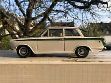 WE PROUDLY PRESENTS the very rare AUTOART 1:18 Lotus Cortina BY RACEFACE-MODELC.
