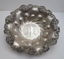 AMERICAN STERLING SILVER BOWL by REDLICH & CO., c. 1900 New York