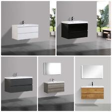 Unterschrank FLAT mit Waschtisch Designer Badmöbel Badezimmer Möbel Garnitur