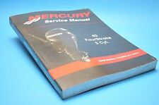 MERCURY FACTORY SERVICE MANUAL OEM 90-899974 40 FOURSTROKE 3cyl OUTBOARD MOTOR