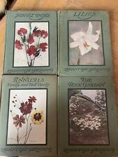 Lilies, Sweet Pea, Annuals, Rock Gardens  Present-Day Gardening Series - 4 Books