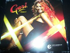Geri Halliwell (The Spice Girls) Ride It Rare Australian Remixes CD