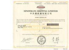 China: Sinotrans Shipping Limited
