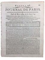 Dentiste 1789 Dent Artificielle Chirurgien Dentier Dubois Foucou Etats Généraux
