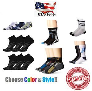 New Balance Socks Size LARGE L -Choose Style & Color- NEW! Free Shipping UNISEX