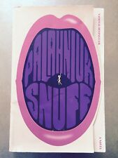 Snuff by Chuck Palahniuk (2009, Paperback) S#2480B