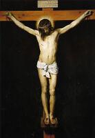Perfect Oil painting Diego Velazquez - Male portrait Christ Crucified hand paint